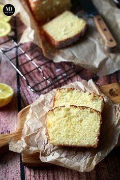 Proste ciasto cytrynowe - bez miksera   Moja Delicja Sweet Recipes, Cake Recipes, Bowl Cake, Polish Recipes, Polish Food, Lemon Desserts, Food Cakes, Food To Make, Food And Drink