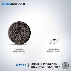 That's our take on 'Relativity.' What's yours? #OreoRewind
