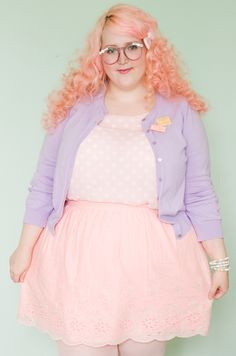 Cupcakes Clothing Blog | Pink Poodle and Polka Dots | {Kawaii, lolita, pastels, pastel goth, plus size, pink, lavender, cute}