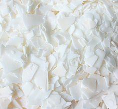 Κερί σόγιας σκληρό EcoSoya PB Soy Candle Making, Coconut Flakes, Soy Candles, Spices, Food, Spice, Essen, Meals, Yemek