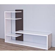 Entertainment Unit for TVs up to Tv Unit Furniture, Home Decor Furniture, Diy Home Decor, Furniture Design, Tv Unit Decor, Tv Wall Decor, Tv Wall Design, Shelf Design, Modern Tv Wall Units