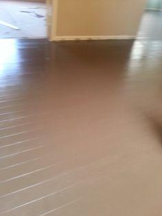 My Painted Wood Floor