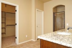MOVE IN READY new home in Yukon, Oklahoma.  Valdera. Master suite w/double vanity, granite countertops, jet tub, separate shower & walk-in closet. Tile. Mirror frame. Cabinets. Drawers.   10032 Volare Drive.  http://4cornershomes.com/c_movein_details.php?item=15&home=174