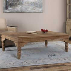 Accent Furniture Khristian Reclaimed Wood Coffee Table by Uttermost at Story & Lee Furniture Large Furniture, Accent Furniture, Barn Wood Picture Frames, Reclaimed Wood Coffee Table, Large Coffee Tables, Engineered Hardwood Flooring, Rustic Wall Decor, Decorating Coffee Tables, Recycled Wood