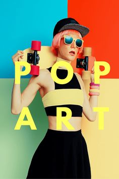 Make it pop: 10 ways to apply the lessons of pop art to your design [with 30 examples that show you how / Ndz Photographie Design Taxi, Pop Art Design, Your Design, Art Designs, Design Ideas, Design Design, Interior Design, Henna Tattoo Designs, Tatto Design