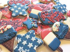 "66 Likes, 2 Comments - Yum-E! Cookies (@yumecookies) on Instagram: ""Still accepting pre-orders! Let Freedom Ring! ❤️"""