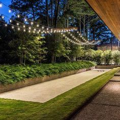 Strategy, tricks, along with guide in the interest of getting the greatest outcome and ensuring the maximum use of Front Home Landscaping Modern Backyard, Small Backyard Landscaping, Backyard Playground, Backyard Games, Bocce Ball Court, Backyard Makeover, Landscape Lighting, Land Scape, Landscape Design