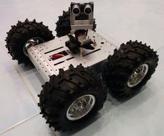 4WD All Terrain Arduino Robot for Everyone