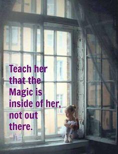 Love this! ~ #quote #magic