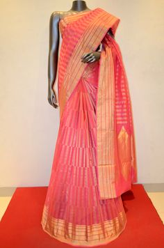 Party Wear Pink Pure Kota Silk Saree Brand: Janardhan silks Product Code: AB207958 Online Shopping: http://www.janardhanasilk.com/index.php?route=product/product&search=AB207958&description=true&product_id=3600