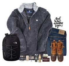 """""""RTD!! Scotland trip"""" by lindsaygreys ❤ liked on Polyvore featuring Abercrombie & Fitch, L.L.Bean, The North Face, PAM, Lord & Taylor, Joie, Emi-Jay, Hershey's and lindsayscotland"""