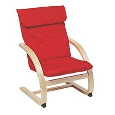 Kids' Bentwood Armchair Red