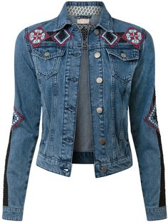 adorable embellished denim jacket for spring summer - http://www.boomerinas.com/2015/03/30/southwestern-style-for-spring-summer-in-bend-oregon-fashion-for-mountain-mama-cowgirls/