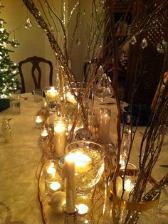 Great idea for a Christmas Table