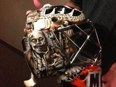 Philadelphia Flyers Goalie Steve Mason's New Mask Will Eat Your Brains And Teach You American History
