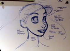 Cowless Cowboy | the-disney-elite: Glen Keane's hand-drawn model...