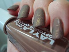 Duochrome damask stamping *click for more*