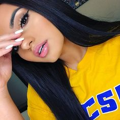 """@lillylashes """"Miami"""" use my discount code """"KarlaJ""""  Brows threaded by @browsbynikki"""