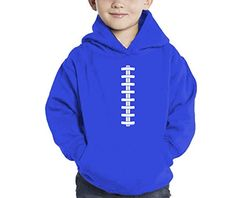 Toddler Little Boy Football Line Hoodie Sweatshirt 2T ROYAL BLUE -- Check out this great product.