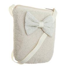 Buy Rockahula Glitter Bow Bag, Ivory Online at johnlewis.com