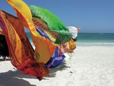fabrics-in-the-wind. Out Of Africa, East Africa, Mombasa Kenya, Nairobi, Places To Travel, Places To Visit, Diani Beach, Kenya Travel, Living In Europe