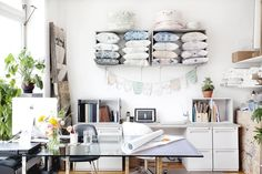 Off the Wall - Small Business Thinks Big with Home Office Design - Lonny