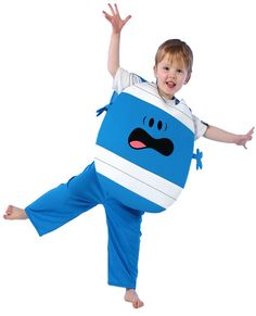 This Mr Bump costume for kids would make a hilarious World Book Day costume! Dress them up as this unforgettable Mr Men character and you could even paint their face blue to complete the costume!
