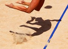 volley #beach #volleyball #jump