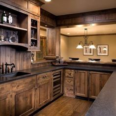 Basement Kitchen Design (another angle)