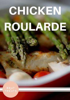 Chicken Roularde | Dinner Recipes | Allergies Friendly Recipe | Diary Free | Gluten Free | Refined Sugar Free | Soy Free