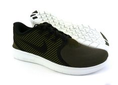 120fcb716a7654 Nike Free RN Commuter men New running shoes sneakers trainers Cargo Khaki   Black  Nike