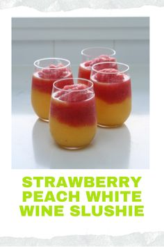 Brunch Recipes, Wine Recipes, Strawberry Drink Recipes, Frozen Strawberries, Slushies, White Wine, Beverages, Good Food, Cocktails