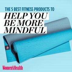 The 5 Best Fitness Products To Help You Be More MINDFUL http://www.womenshealthmag.com/fitness/mindful-fitness-gear