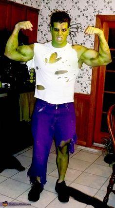 DIY The Hulk Costume and other DIY superhero costume ideas, see more at http://diyready.com/diy-superhero-costume-ideas