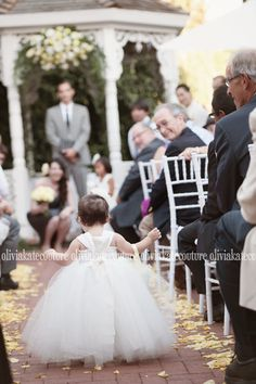 baby flower girl dress, tutu dress, wedding ideas, flower girl ideas, ivory dress, Olivia Kate Couture