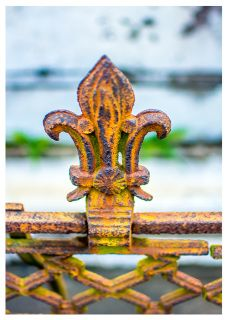 5 X 7 All Occasion Fine Art Card - New Orleans Iron Fine Art Greeting Card  - Card is printed on premium card stock and comes with a white envelope Art prints are available WillDavisStudios.com. Photo by Matt Punches  Will Davis Studios charges a flat rate of $2.00 per order with no limit on the number of items. 