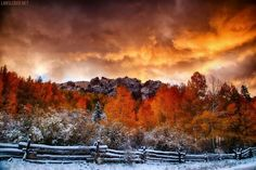 Fire and Ice. Colorado