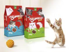 Cat Food Supercat by Juan Carlos Zuluaga niño, via Behance