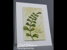 Watercolouring technique for card making. Supplies needed: - Watercolour paper - waterbased inks - water mister