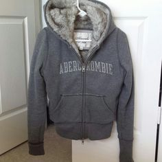 Abercrombie & Fitch hoodie A warm Abercrombie & Fitch hoodie. (Child large = Adult small) Abercrombie & Fitch Jackets & Coats