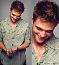 Rob Pattinson....I know, I'm silly, there's just somethin' about him....oh yea, he sparkles! Hahaha..