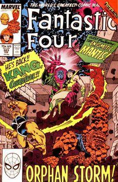 Fantastic Four # 323 by Ron Frenz & Joe Sinnott