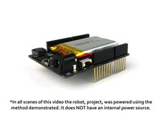 The energyShield - Power for your Arduino Creativity by NightShade Electronics — Kickstarter