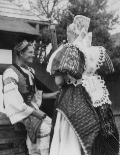 Detva, Sovakia Folk Clothing, Heart Of Europe, Czech Republic, Westerns, Costumes, Embroidery, Traditional, History, Country