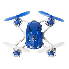 Hubsan H111 Q4 Nano Drone Quadcopter - World's Smallest Mini Kids Drone - 2.4 GHz 4CH RC Drone - Exclusive Blue * Check this awesome product by going to the link at the image.