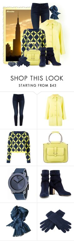 """nr 1780 / Geometric"" by kornitka ❤ liked on Polyvore featuring Jen7, Boutique Moschino, Versace, Gucci, Movado, Gianvito Rossi, Burberry, Black and geometric"
