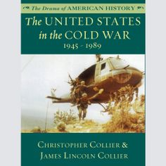"Christopher Collier fans! His ""The United States in the Cold War"" (The Drama of American History) was recently published in audio. Sample it here:"