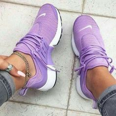 best cheap b632b ee596 Light Purple girly Nike Air Presto s are a stylish, comfy   fashionable  summer trainer perfect for for complimenting any Nike outfit.