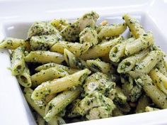 made this amazing chicken pasta pesto dish with our sauce. Our original pesto can seemingly be used with any protein and your favorite type of pasta for a quick, no mess no fuss lunch or dinner! Pesto Chicken Penne, Creamy Chicken, Pasta Recipes, Cooking Recipes, Chicken Recipes, Turkish Recipes, Pasta Dishes, Pasta Sauces, Pasta Salad