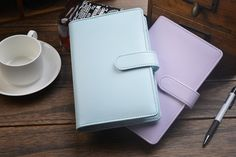new Business Traveler's Notebook Leather diary  looes leaf journal  Cute Kawaii Note book Planner Notepad BK09-in Notebooks from Office & School Supplies on Aliexpress.com | Alibaba Group